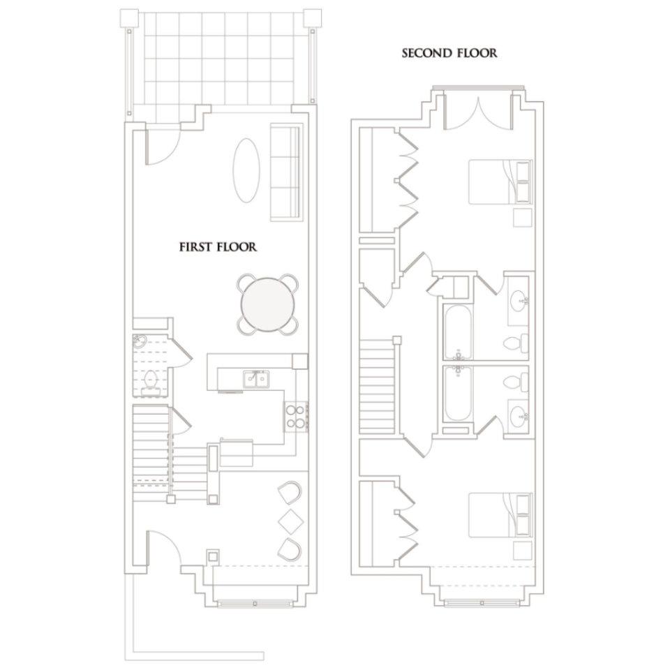 The Terraces At Timothy Condominiums Floorplan